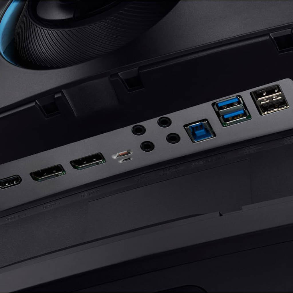 "49"" 1440p 120Hz Dual QHD Curved QLED Gaming Monitor"