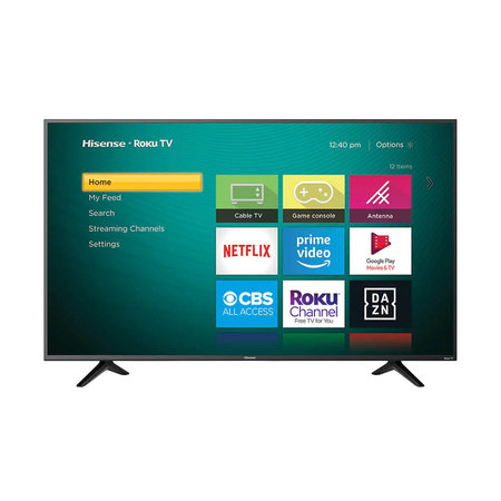 "Hisense 50R6109 50"" 4K 60HZ LED Smart Roku TV"