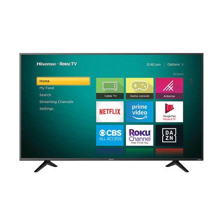 """Hisense 43R6109 43"""" 4K 60HZ LED Smart Roku TV"""