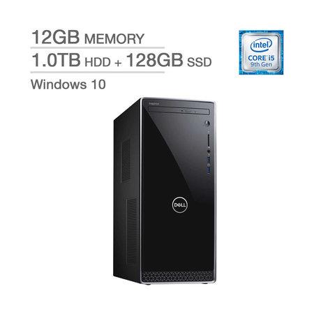 Dell Inspiron Intel Core i5-9400 / 12GB Memory / 1.0TB HD + 128GB SSD / Intel UHD Graphics 630 / Windows 10