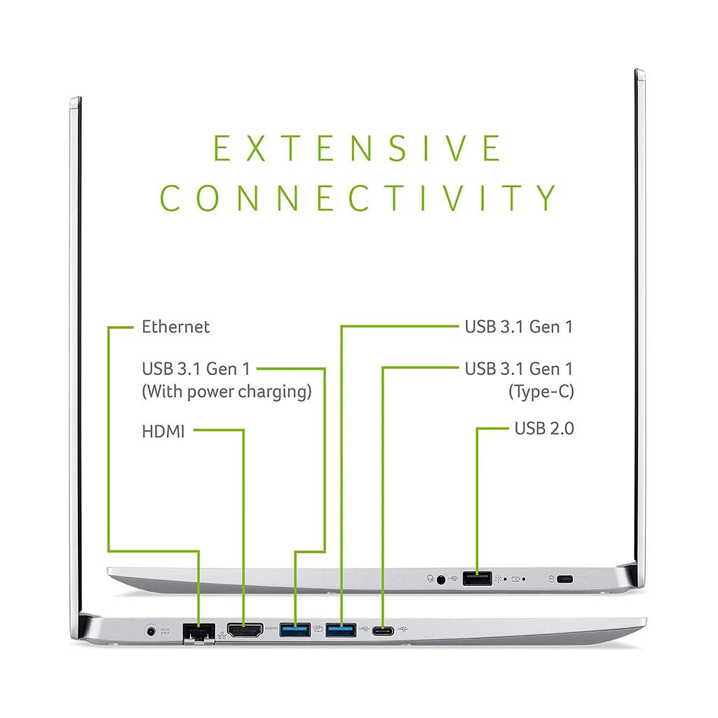 Acer Aspire 5 A515-54-51R2 Intel Core i5-10210U (1.6GHz) / 12GB RAM / 256GB SSD / 15.6-in / Windows 10