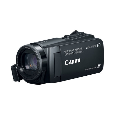Canon VIXIA HF W10 Full HD Waterproof Camcorder - Black