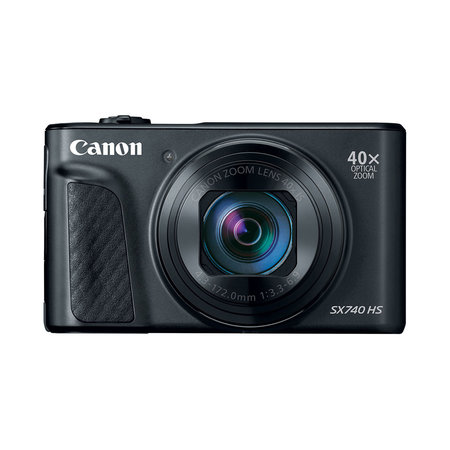 Canon Powershot SX740 HS 20.3MP 40x Optical Zoom Digital Camera - Black