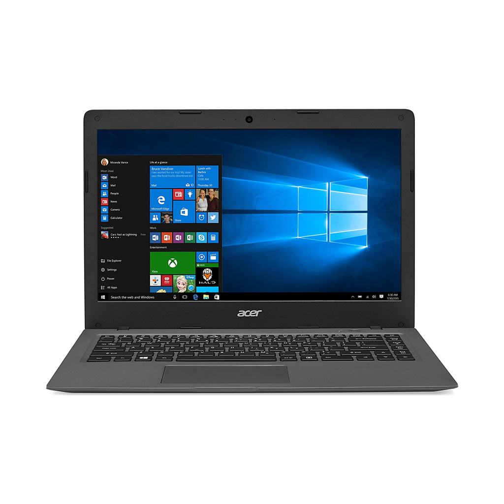 Acer CloudBook  A01-431-C4XG Intel Celeron N3050 / 2GB RAM / 64GB eMMC / Intel HD Graphics / 14-in Screen / Win 10 / 3-cell