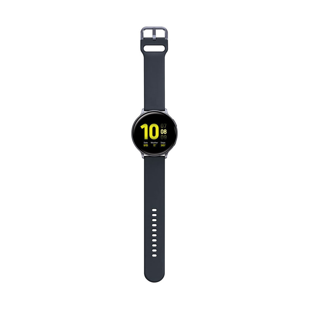 Galaxy Watch Active2 Bluetooth Smartwatch (Aluminum, 44mm, Aqua Black)
