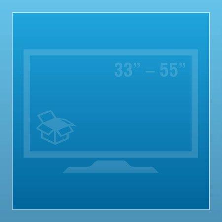 "33"" – 55"""
