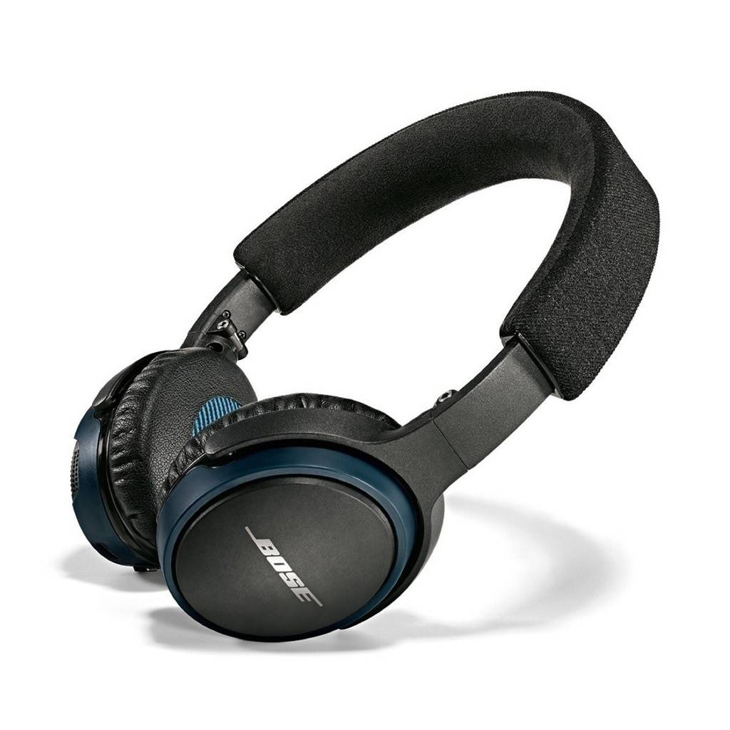 Bose Soundlink On-ear Headphones / Black / Blue