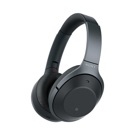 WH-1000XM2 Over-Ear Noise Cancelling Bluetooth Headphones - Black