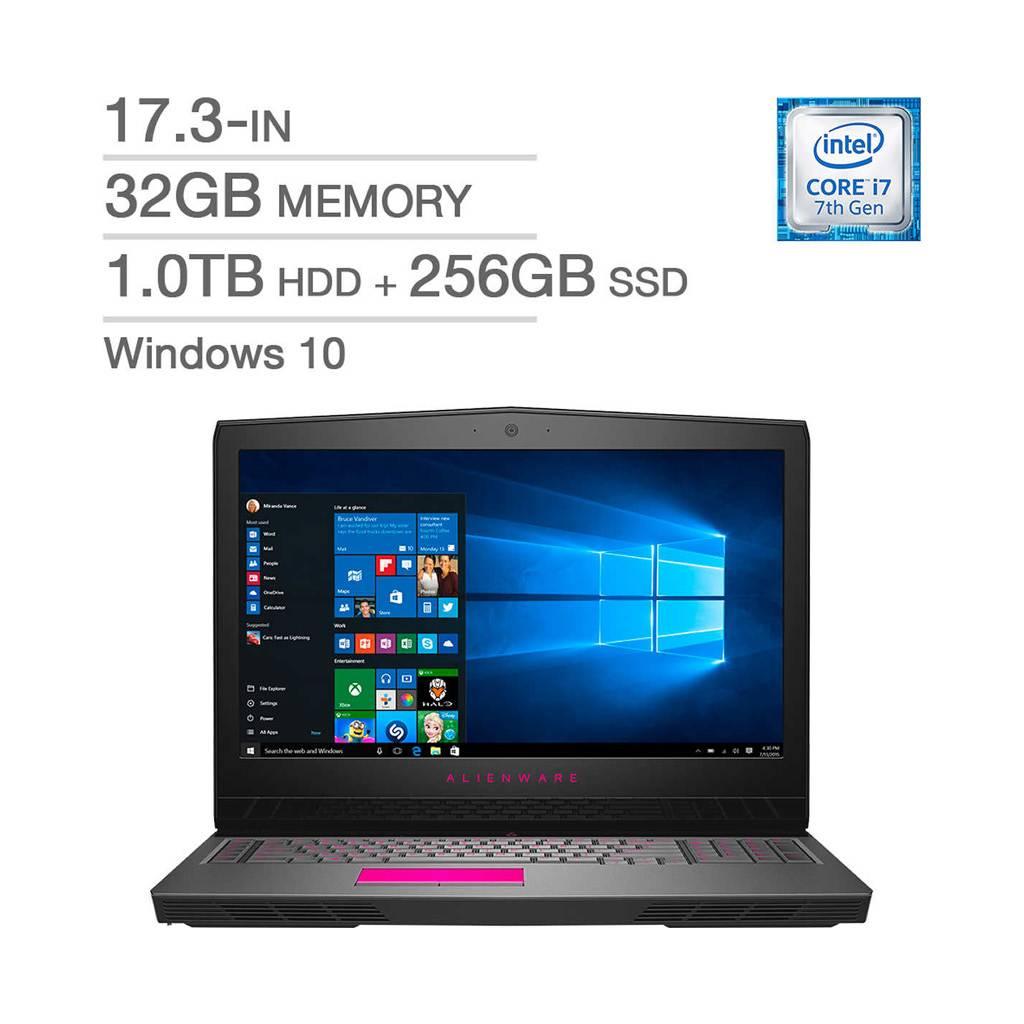 Alienware 17 R4 / i7-7820HK  / 32GB RAM / SSD + HDD / NVidia GTX 1080