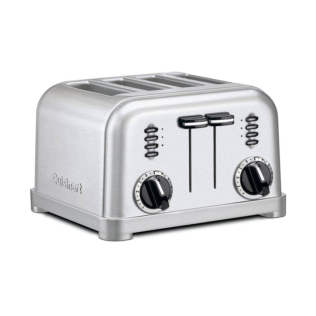 CPT-180 Metal Classic 4-Slice Toaster / Brushed Stainless (Manufacturer Refurbished / 6 Month Warranty)