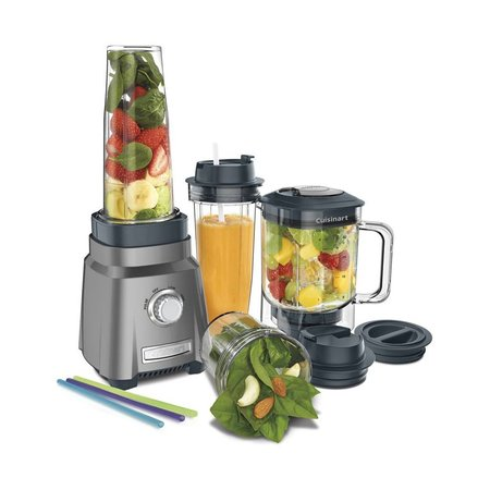 CPB-380C Hurricane Compact Blender - Gun Metal (Manufacturer Refurbished / 6 Month Warranty)