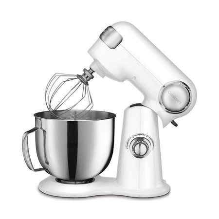 SM-50C Precision Master 5.5 Qt (5.2L) Stand Mixer - White (1 Year Warranty)