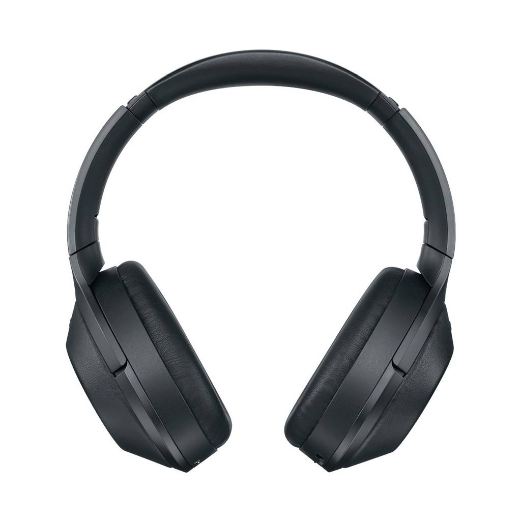 MDR-1000X Over-Ear Noise Cancelling Bluetooth Headphones - Black