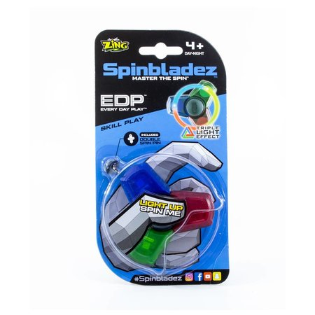 Zing Spinbladez Tripple LED Fidget Spinner (3 LED)