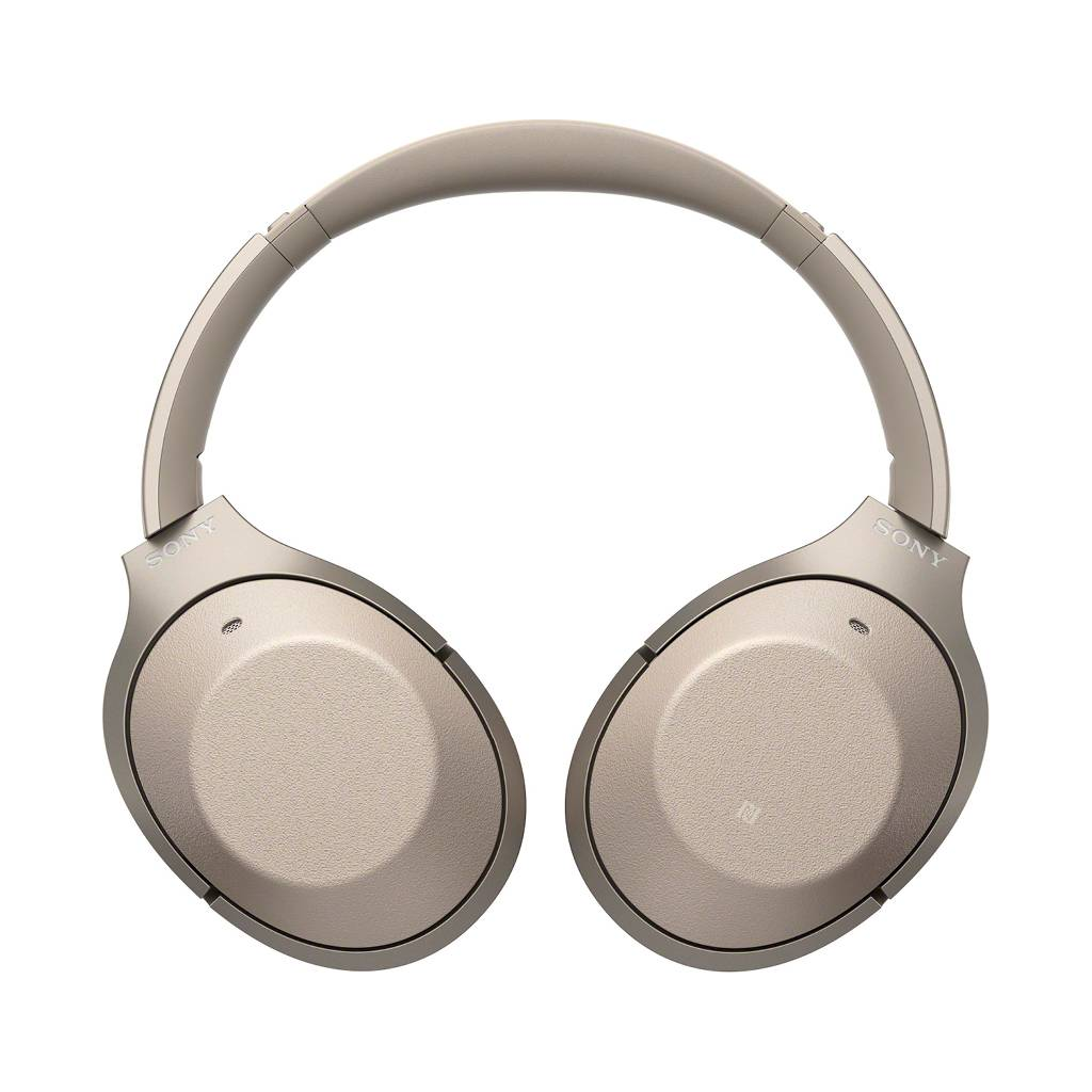 WH-1000XM2 Over-Ear Noise Cancelling Bluetooth Headphones - Champagne