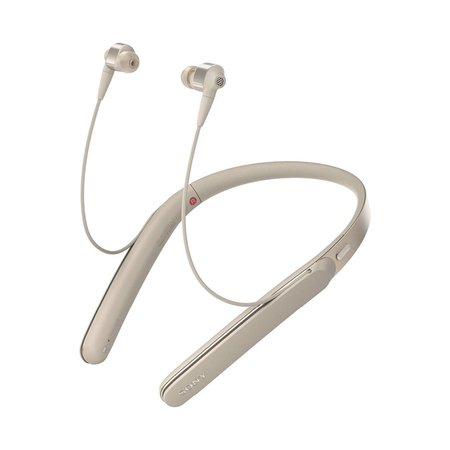 WI-1000X/N In-ear Wireless Noise Cancelling Headphones - Champagne