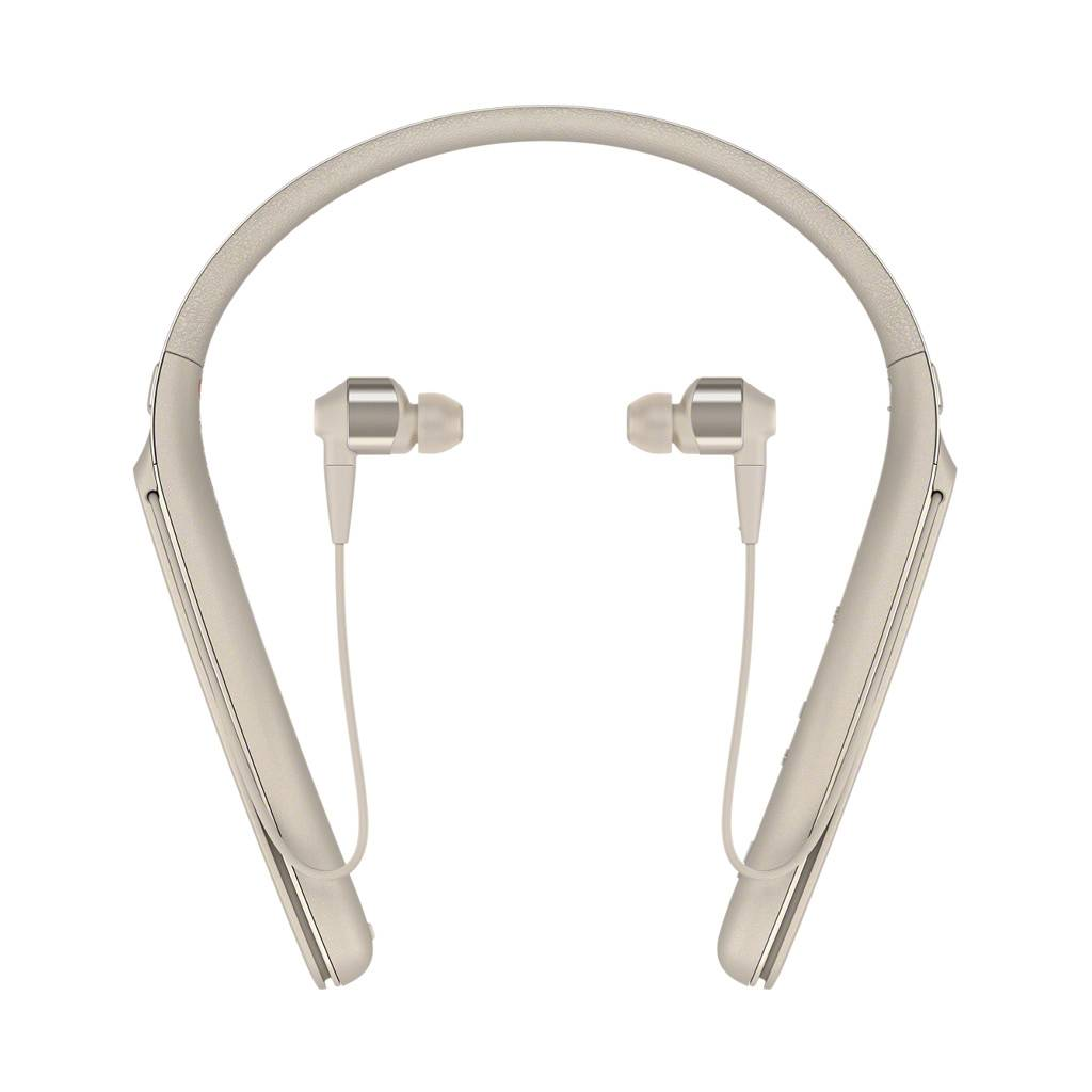 WI-1000X/N In-ear Wireless Noise Cancelling Headphones - Champagne