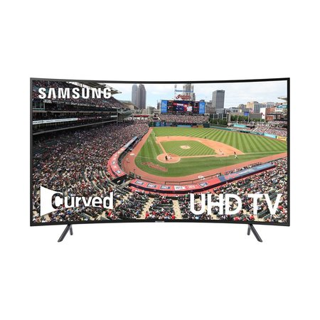 "UN65NU7300 65"" 4K UHD HDR 60Hz (120MR) Curved LED Tizen Smart TV"