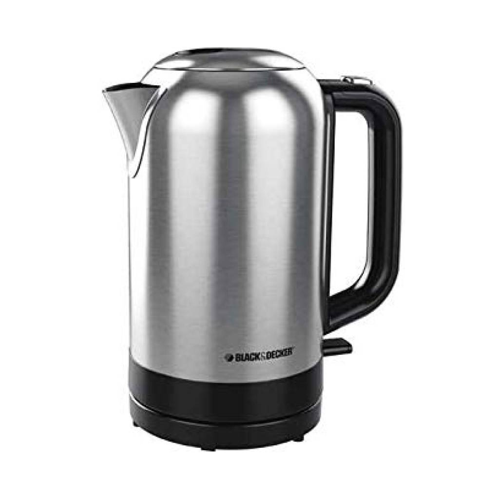 Black & Decker 1.7L Cordless Stainless Steel Kettle KE2001SD