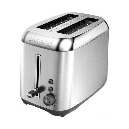 Black & Decker Stainless Steel 2-Slice Toaster TR3490SKT
