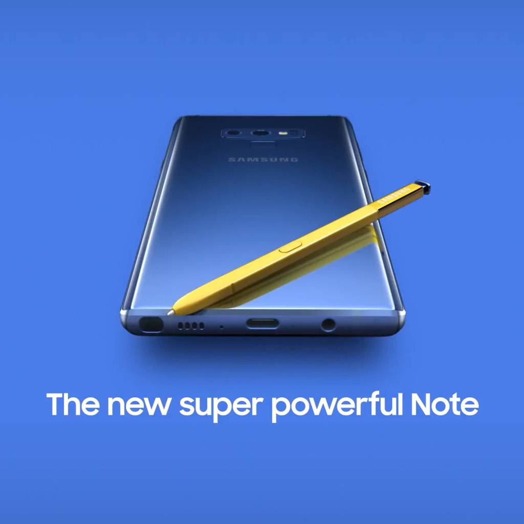 Galaxy Note9 128GB Smartphone (Unlocked) - Ocean Blue
