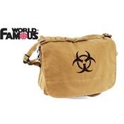 World Famous World Famous Bio-Hazard Shoulder Bag (Tan) #181