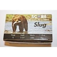 "Score Score 1 1/8oz High Velocity Slugs (12 GA - 2 3/4"") 1550FPS - 25 Shells"