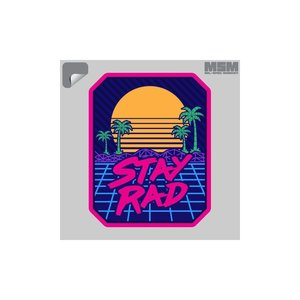 Milspec Monkey Stay Rad Decal
