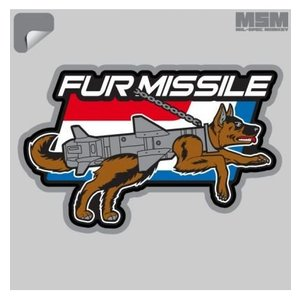 Milspec Monkey Fur Missile Decal