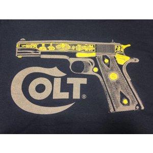 Colt Colt 1911 Brand T-Shirt (Navy) 1911