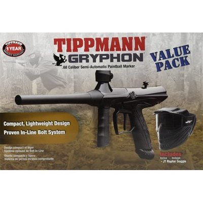 Tippmann Tippmann Gryphon Paintball Value Pack (W/ Marker& Mask)