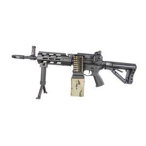 G&G Airsoft G&G CM16 LMG Airsoft Rifle (Black)