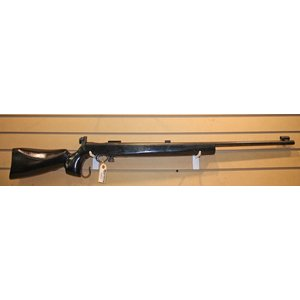 Vickers Armstrong .22LR - Falling Block Martini Style Rifle (Black Custom Wood Stock)
