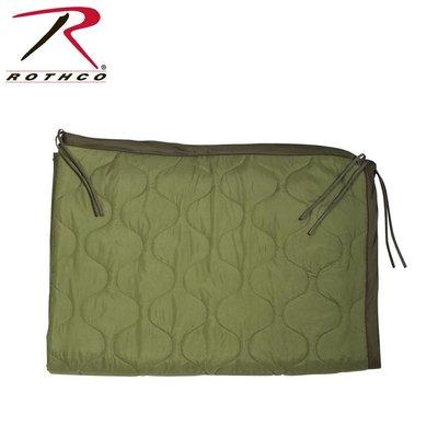 Rothco Rothco GI Style Poncho Liner / Ranger Blanket  (w/ Ties) Olive Drab