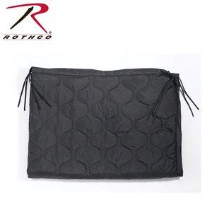 Rothco Rothco GI Style Poncho Liner / Ranger Blanket  (w/ Ties) Black