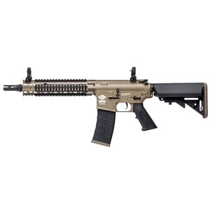 G&G Airsoft G&G CM18 MOD 1 Desert Tan Airsoft AEG Rifle (Tan Body)