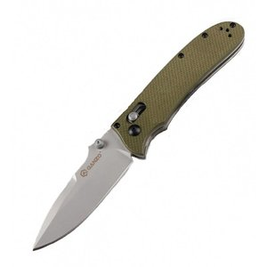 Ganzo Firebird Green Folding Knife (Slide Lock) F704-GR
