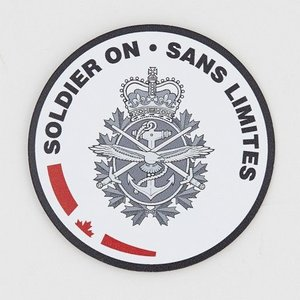"CANEX Soldier On (Magnet) 3"" x 3"""