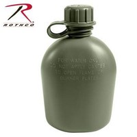 Rothco Rothco 1QT Plastic Canteen (Olive Drab) #605