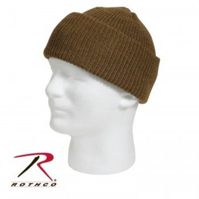 Rothco Rothco Wool Watch Cap - Coyote Tan (#5437)