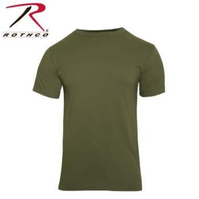 Rothco Rothco Olive Drab T-Shirt (Adult Men's) 100% Cotton