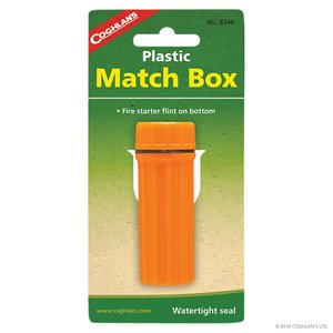 Coghlan's Coghlans Plastic Matchbox (8746) Orange