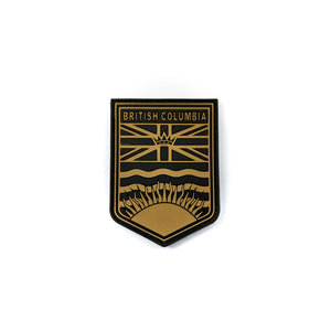 Tactical Innovations BC Flag Crest Patch (Tan) (PVC)