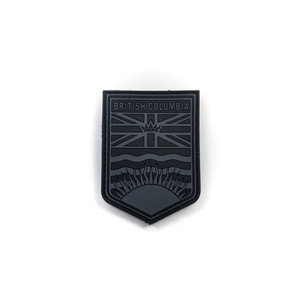 Tactical Innovations BC Flag Crest Patch (Urban) (PVC)