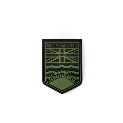 Tactical Innovations BC Flag Crest Patch (OD) (PVC)