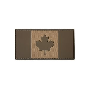 Tactical Innovations Canada Flag Patch (Tan) (PVC)