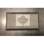 Tactical Innovations Canada Flag (Urban) On Guard For Thee (PVC)