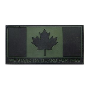 Tactical Innovations Canada Flag (OD) On Guard For Thee (PVC)