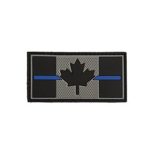 Tactical Innovations Canadian Thin Blue Line Patch - SWAT (PVC) 1.5x3