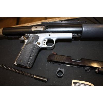 Michigan Armament 1911 45 ACP with Mech-Tech Stock
